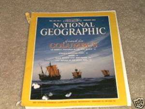 NATIONAL GEOGRAPHIC, Search for Columbus, January 1992