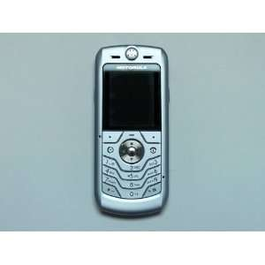Original Motorola L6 Black Unlocked Gsm Cell Phone (Silver