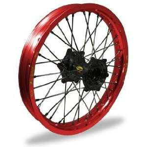Wheel Set   21x1.60   Red Rim/Black Hub 23 26027 HUB/RIM Automotive