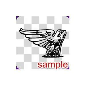 BIRD 26 10 WHITE VINYL DECAL STICKER