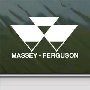 Ferguson White Sticker Car Laptop Vinyl Window White Decal Arts