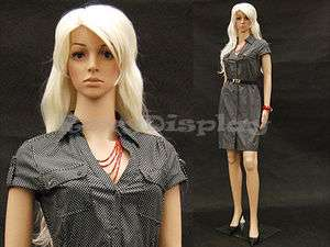 Durable Manequin Manikin Mannequin Display Dress Form G2 +FREE WIG