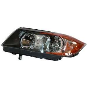 TYC 20 6976 00 BMW Driver Side Headlight Assembly