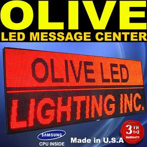 LED Sign Programmable Scroll Message Display 28 x 66
