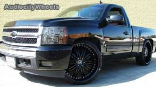 26 Wheels & Tires D1 Rims (Chevy Ford, Escalade GMC)