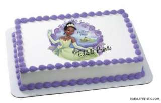 Princess and the Frog Edible Image Icing Cake Topper