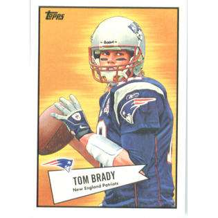 Topps 2010 Topps Football Card #52B 43 Tom Brady New England Patriots