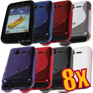 8x Soft TPU Gel Case for Sony Ericsson Xperia Active ST17i