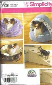 Pet Accessories Clothes Beds Costumes Simplicity Sewing Pattern
