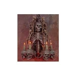 Skeleton Chandelier   Halloween Prop Patio, Lawn & Garden