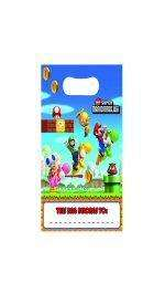 Super Mario Bros Wii Party Loot Bags x 8 £2.49