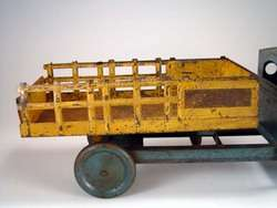 Steelcraft Buddy L Structo Wyandotte Pressed Steel Stake Body Truck