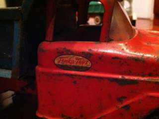 VINTAGE TONKA TOY DUMP TRUCK AND SANDLOADER Mound Minn 1956 1957