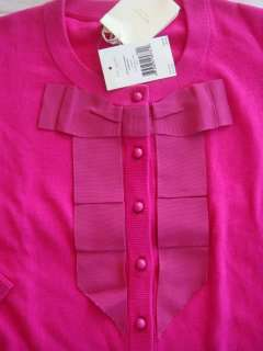 New Kate Spade Boulevard Cardigan Sweater Snapdragon Bow Academy Hot