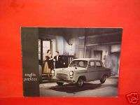 1955 ENGLISH FORD ANGLIA PREFECT BROCHURE CATALOG BOOK