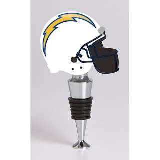NFL San Diego Chargers Helmet Wine Stopper