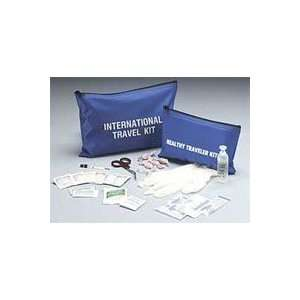 74601 First Aid Kit Basic Travelers International Nylon Blue Quantity