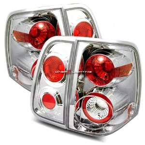 03 07 Lincoln Navigator Tail Lights   Chrome Automotive