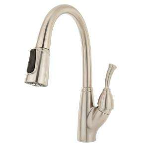 Delta Allora Single Handle Pull Down Sprayer Kitchen Faucet in