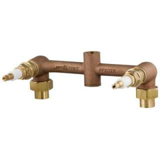 Cast Brass 2 Handle Tub/Shower Valve Body 03 61XA