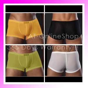 2012 Mens Boxer Brief Boxer Shorts Underwear Trunks Shorts 4 Colors