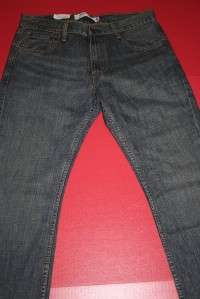 NWT MENS LEVIS 527 BOOT CUT JEANS SIZE 36X30 #650