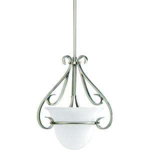 Progress Lighting Torino Collection Brushed Nickel 1 light Mini