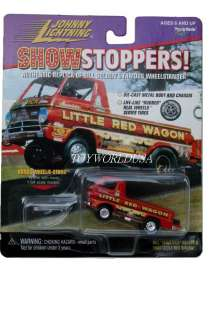 JL~SHOWSTOPPERS~1988 Little Red Wagon DODGE A 100