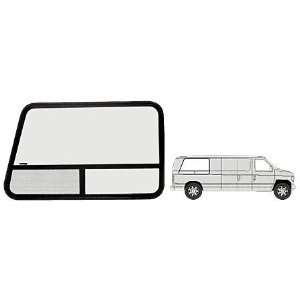 Passenger Side Rear 1992+ Ford Vans 44 1/4 x 22