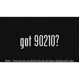 (2x) Got 90210   Sticker   Decal   Die Cut   Vinyl