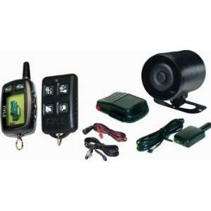 Pyle LCD 2 way Car/Vehicle Security Alarm System