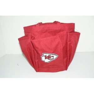 NFL Kansas City Chiefs Shower Tote Caddy