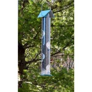 Nyjer Seed 3 1/4 lb Clear Tube Bird Feeder Patio, Lawn