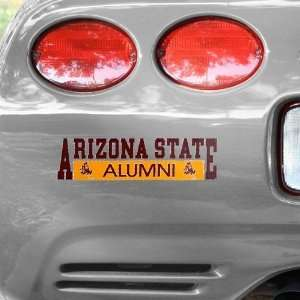 NCAA Arizona State Sun Devils Alumni Car Decal  Sports