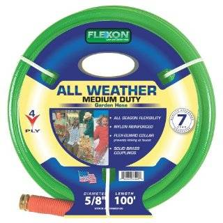 Flexon FR58100 5/8 Inch x 100 Foot 3 Ply Light Duty Garden