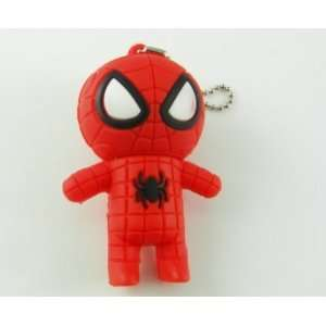 Cute Spider man USB Drive flash Memory Pen Drive Red Computers