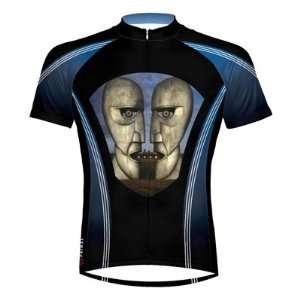Primal Wear 2012 Mens Pink Floyd Division Bell Short Sleeve Cycling