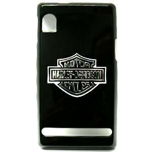 Motorola Droid A855 Harley Davidson Logo on Black Hard