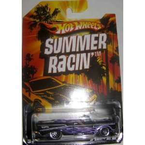 HOT WHEELS 2009 EXCLUSIVE SUMMER RACIN 57 CHEVY BEL AIR CONVERTIBLE