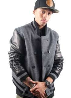 Rocksmith Edo Black Varsity Jacket Clothing