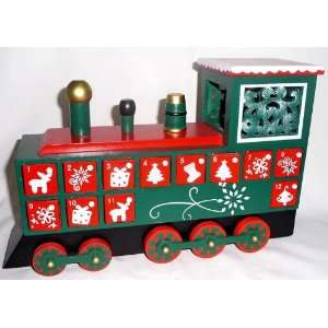 House of Marbles Train Advent Calendar Toys & Games