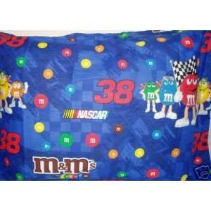 Nascar M&Ms Racing Pillow SHAM #38 Elliott Sadler