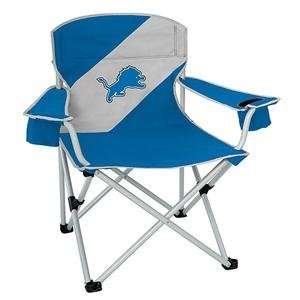 Detroit Lions NFL Mammoth Folding Arm Chair  Sports