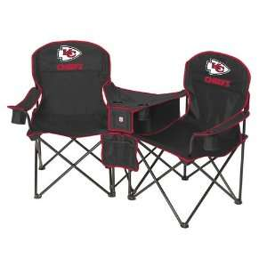 Kansas City Chiefs NFL Deluxe Folding Conversation Arm Chair