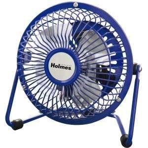 NEW Holmes 4 Mini Fan Blue (Indoor & Outdoor Living)