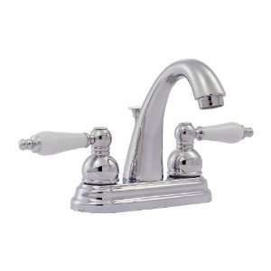 Price Pfister Classic Polished Chrome 2 Handle Bathroom Faucet (Drain