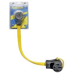 Arcon 14372 Generator Pigtail Power Cord 50 Amp Female to 30 Amp Male