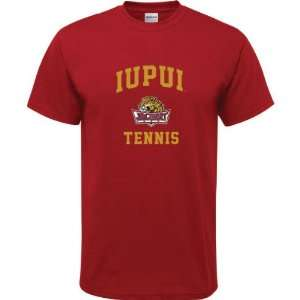 Jaguars Cardinal Red Youth Tennis Arch T Shirt