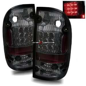 01 04 Toyota Tacoma LED Tail Lights   Smoke Automotive