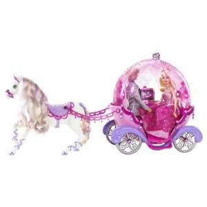 Barbie Horse and Carriage Toys & Games